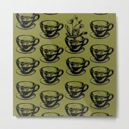 Dandy Cups! Metal Print