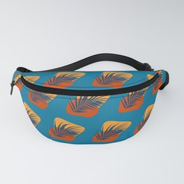 Blues & Ambers Abstract No.5 Fanny Pack