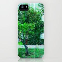 Green Heaven by Lika Ramati iPhone Case