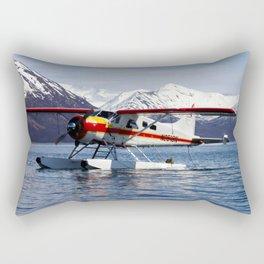 Beaver Float Plane Photography Print Rectangular Pillow