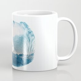 double exposure Face Coffee Mug