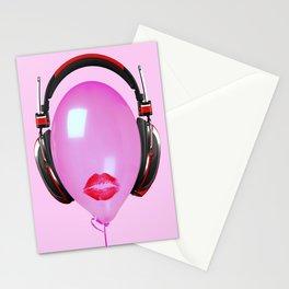 Sound Blur Stationery Cards