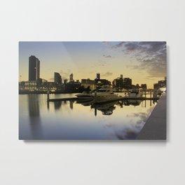 South Wharf Sunrise Metal Print