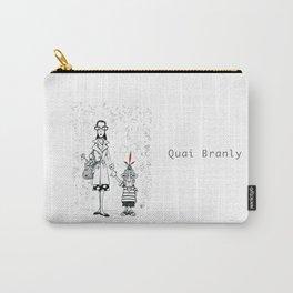 A Few Parisians by David Cessac: Quai Branly Carry-All Pouch