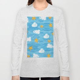 clouds and stars Long Sleeve T-shirt