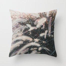 Autumn grasses No. 1 Throw Pillow