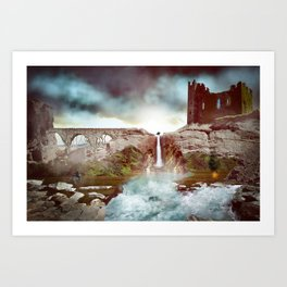 Searching for Princess Buttercup Art Print