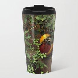 Golden Pheasant Travel Mug