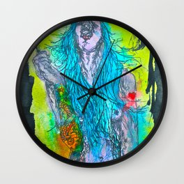 She Will Destroy You Wall Clock