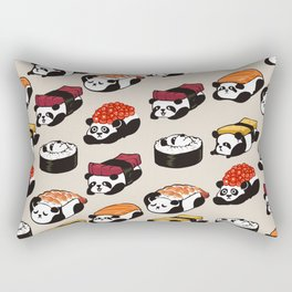 Sushi Panda Rectangular Pillow