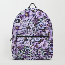 FLOWERS WATERCOLOR 24 Backpack