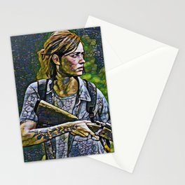 The Last of Us Ellie Artistic Illustration Infected Style Stationery Cards