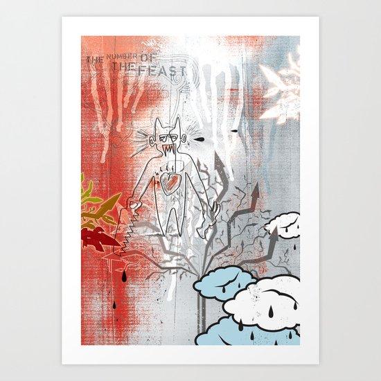 Thunderstruck No. 3 Art Print