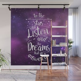 ACOMAF- To the Stars Who Listen And the Dreams that are Answered Wall Mural