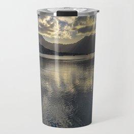 Dusk over Kaneohe Bay Travel Mug