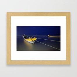 Sleeping Harbor Framed Art Print