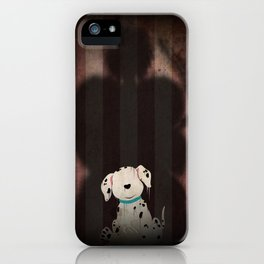 Shadow Collection, Series 1 - Bone iPhone Case