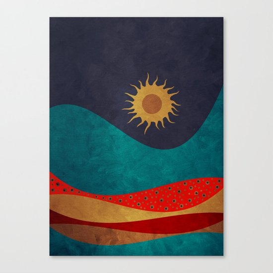 color under the sun Canvas Print