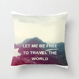ITALY Venice Travel Photography Home Decor Nursery Wall Art Square Prints PARIS France Throw Pillow