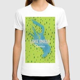 Lake Onega, russia T-shirt