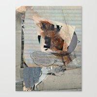 mirror Canvas Prints featuring Mirror by Paul Prinzip
