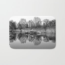 Winter Poetry Bath Mat