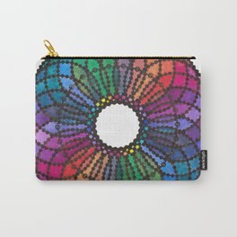 """Jolisha"" Watercolor Mandala Carry-All Pouch"
