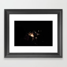 Birth Of A Flame. Framed Art Print