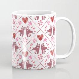Quilted Milongueros - a Tango Gitano Pattern  Coffee Mug