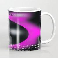 artsy Mugs featuring Graphic Artsy by DesignByAmiee