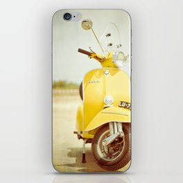 Mod Style in Yellow iPhone Skin