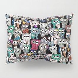 Gemstone Owls Pillow Sham
