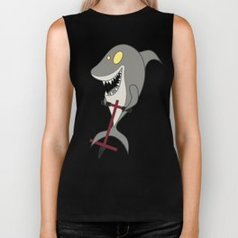 Pogo Shark Biker Tank