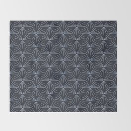 SUN TILE DARK Throw Blanket