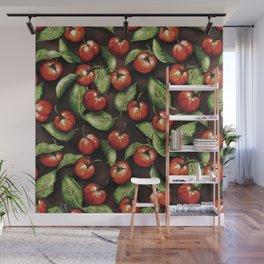 Fruit Acerola Pattern Wall Mural