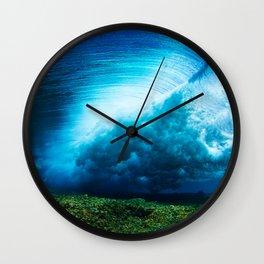 Fijian Surf Wall Clock