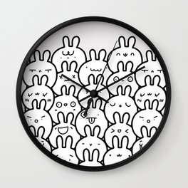 Where's Bunny? Wall Clock