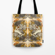 VECTORICAL DANCING Tote Bag