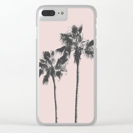 Beach palm 2 Clear iPhone Case