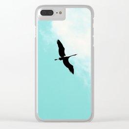 Crane(s) V Clear iPhone Case