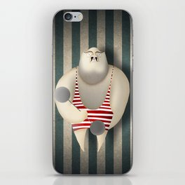 Mr Strong iPhone Skin