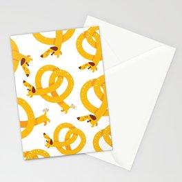 Pretzel Dog Stationery Cards
