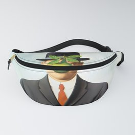 Rene Magritte The Son of Man, 1964 Artwork, Tshirts, Posters, Prints, Bags, Men, Women, Youth Fanny Pack