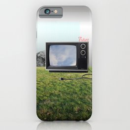 Still life with TV 3 iPhone Case