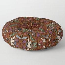 Nature Vibrant Floor Pillow