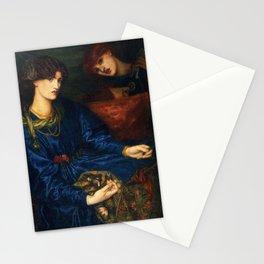 Dante Gabriel Rossetti - Mariana Stationery Cards