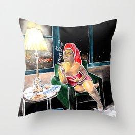 Rhodanthe Throw Pillow