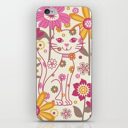 Garden Cat iPhone Skin
