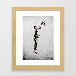 Spraypaint Framed Art Print