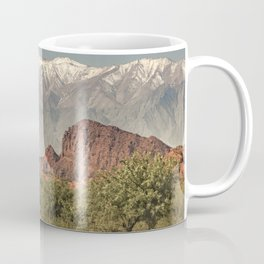 Empty Highway Landscape, La Rioja, Argentina Coffee Mug